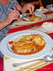 Hacienda Los Miradores Dinner