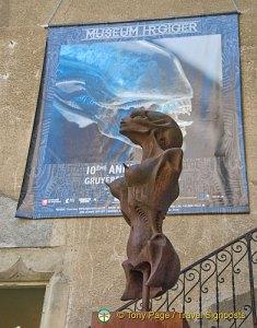 H R Giger Gallery in Gruyeres