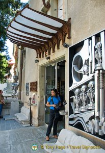 H R Giger Museum in Gruyères