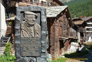 Ulrich Inderbinen Memorial
