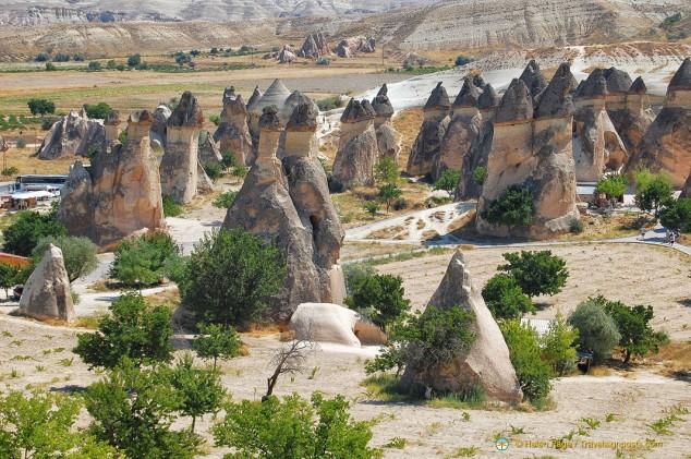 FFairy Chimneys of Monks Valley, Cappadocia