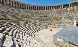 Aspendos – Famous for its Roman Amphitheatre