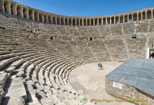 Aspendos Theatre, Aspendos