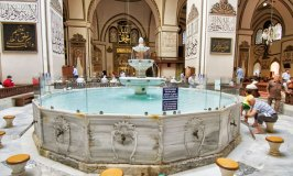 Bursa Ulucamii fountain