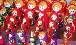 Ukrainian Wooden Dolls