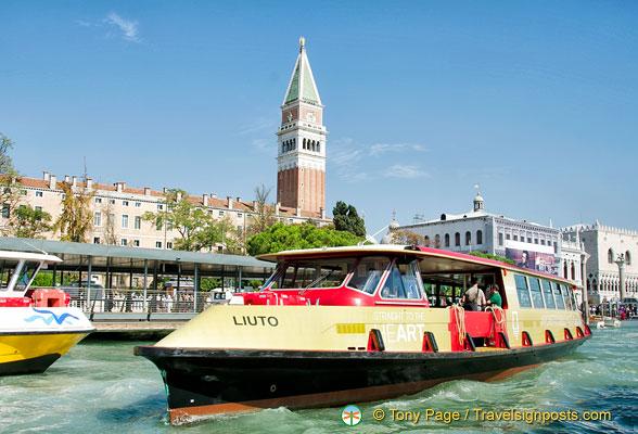 Venice Hop-on Hop-off Waterbus