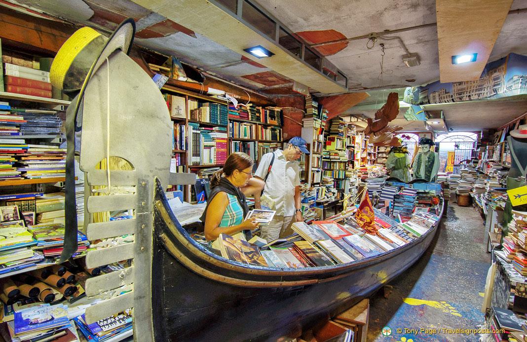 Libreria Acqua Alta - A Hidden Gem in Venice