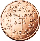 5 cent coin (back)