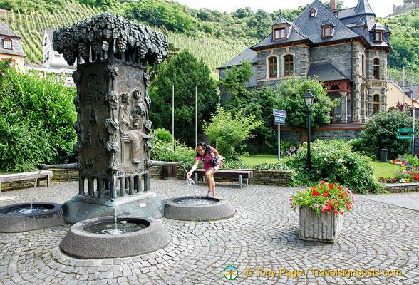 Bernkastel Doctor fountain