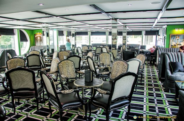 The Main Lounge of Uniworld's River Princess