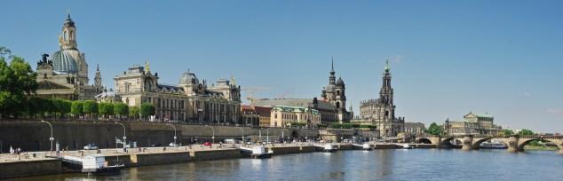 Dresden waterfront