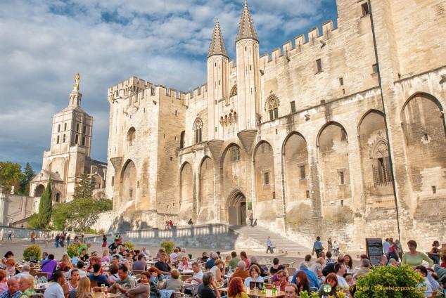 Papal Palace of Avignon, the Gothic Palais des Papes
