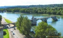 Pont Benezet over the Rhône river in Avignon