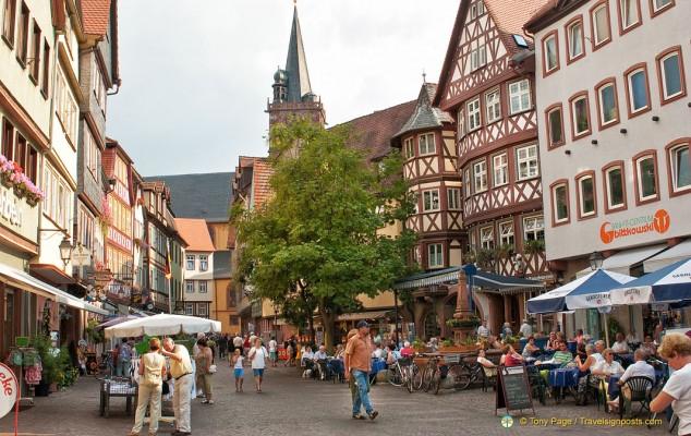 Wertheim historic center