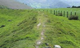 Offa's Dyke – walking on the Dyke (760AD)