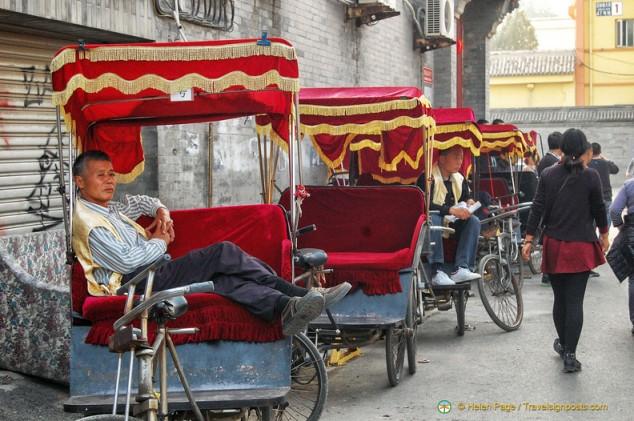 Beijing Hutong Rickshaw Ride