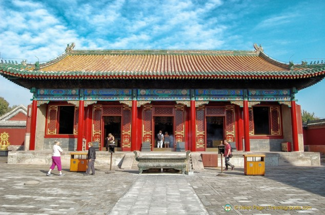 Puning Temple Hall
