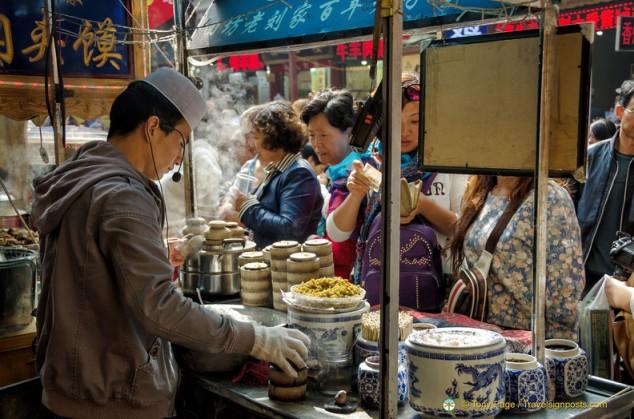 Xian Muslim Snack Street