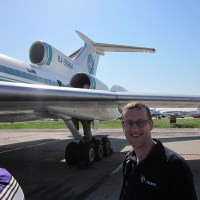 Flying the Lucky Tupolev