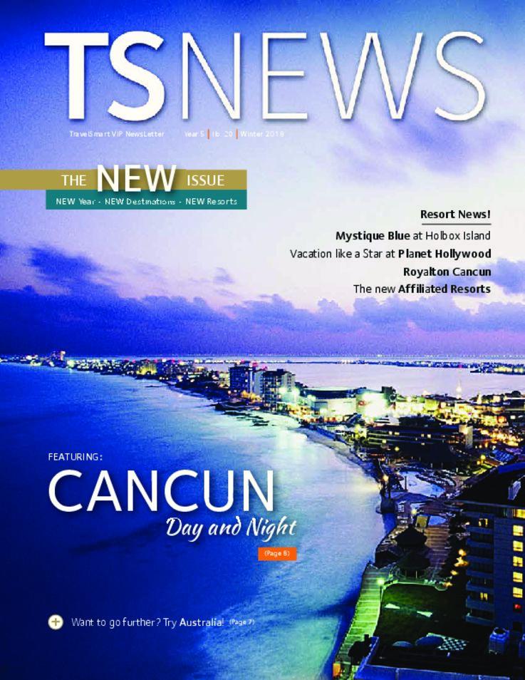 TSNews TravelSmart VIP Newsletter Winter 2018
