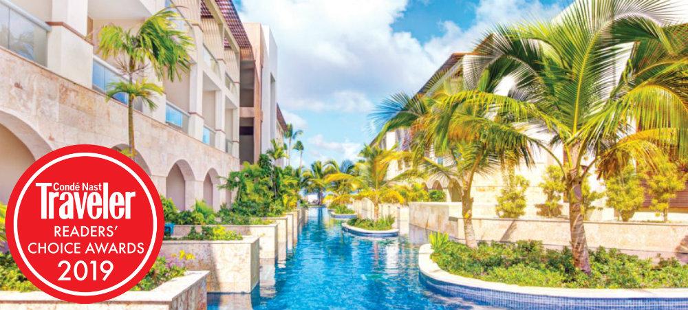 Conde Nast readers choice 2019 royalton punta cana travelsmart vip
