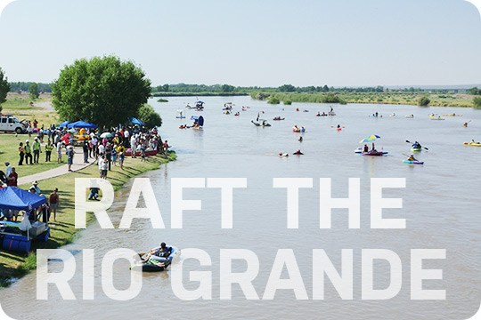 Raft the Rio Grande in Las Cruces