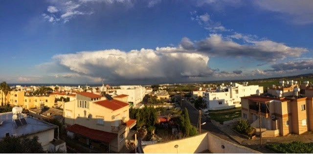 View over Famagusta - An Adiot Abroad