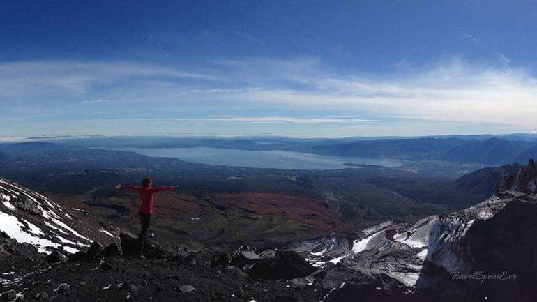 Highlights Aktivreisen Sportreisen Besteigung Vulkan Villarrica