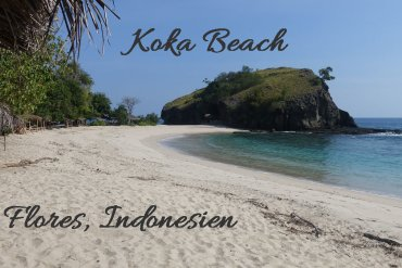 Koka Beach Strand Flores Indonesien