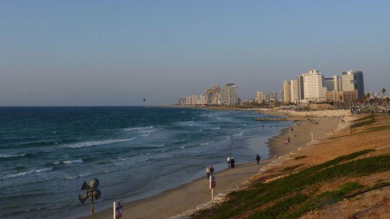 Tel Aviv Marathon 2017 Strand