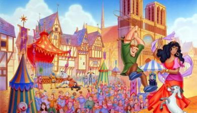Il gobbo di Notre Dame Parigi