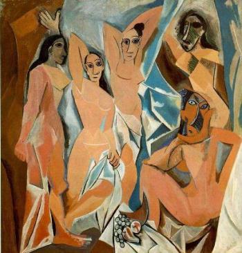 Les demoiselles d'Avignon, Picasso