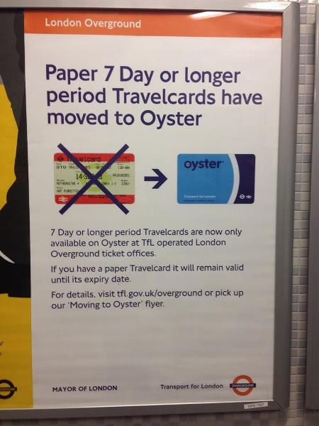 travelcard moving oyster