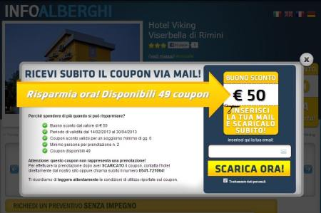 coupon info-alberghi