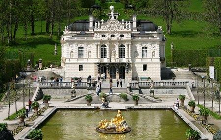 tour castelli baviera Linderhof