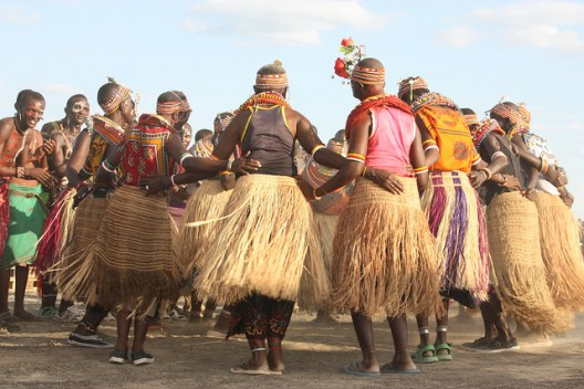 Samburu Dance During the Lake Turkana Festival