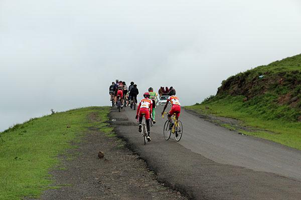 Biking on Ngong Hills