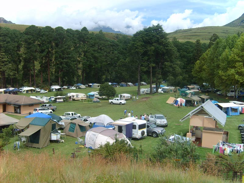 Family friendly and clean, Mahai Campsite in the Royal Natal National Park section of the Drakensberg offers one of the best camping experiences in South Africa.
