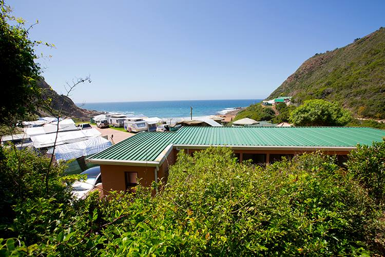 Vic Bay Campsite is one of the most popular camping sites on South Africa's Garden Route.