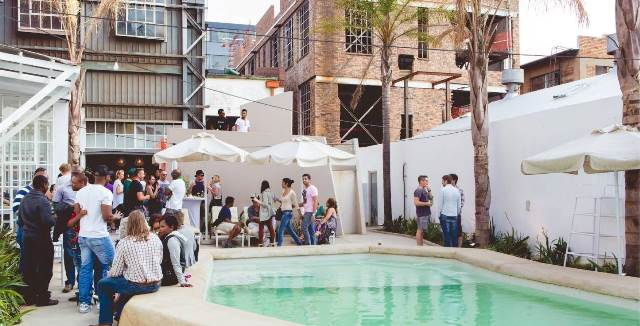 Poolside Cafe Maboneng Precinct