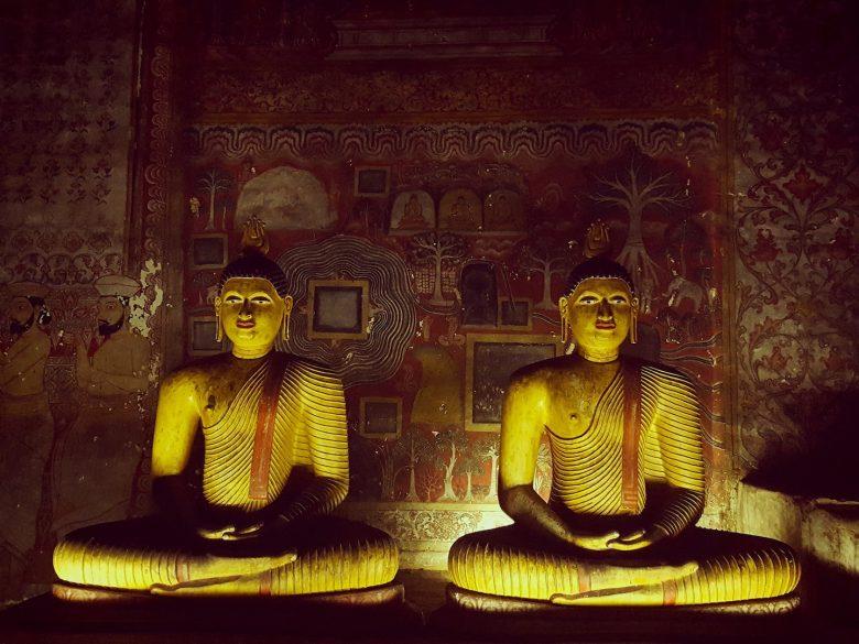 Buddha backpacking Sri Lanka