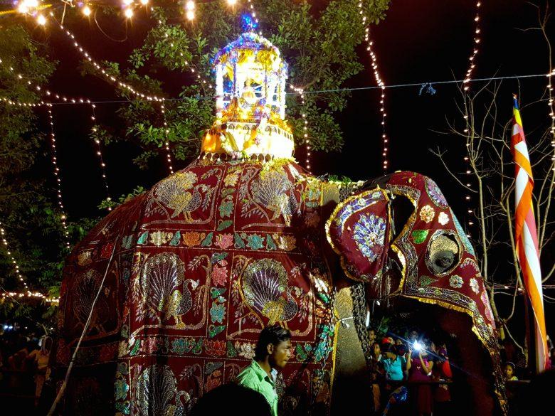 Cultural festival in Kandy backpacking Sri Lanka