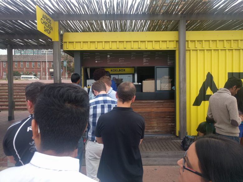 worth the queue at afro's chicken