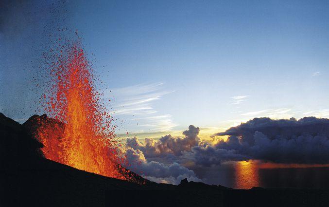 Réunion volcan