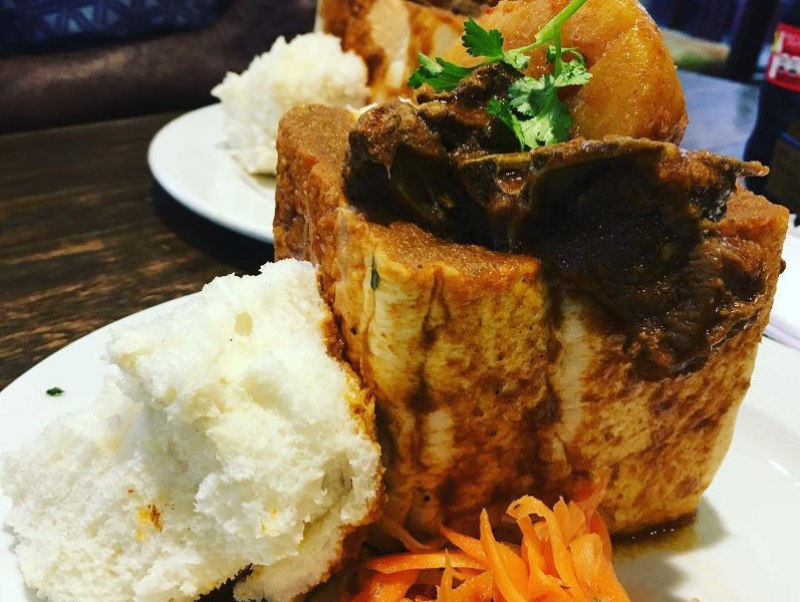 food tours cape town bunny chow