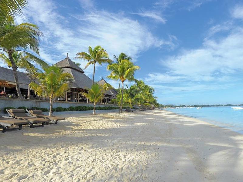 beach resort - mauritius