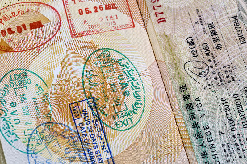 different types of visas