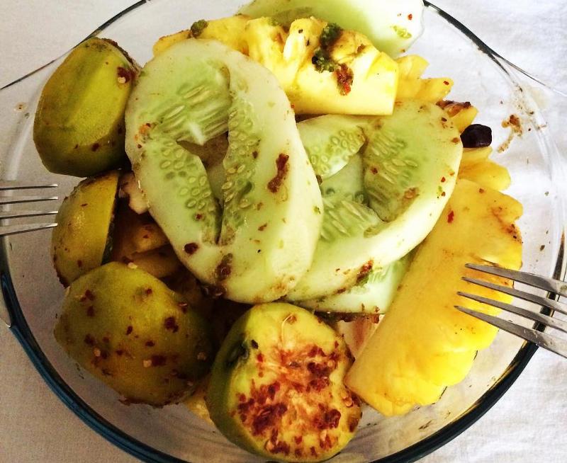 mauritian fruit salad