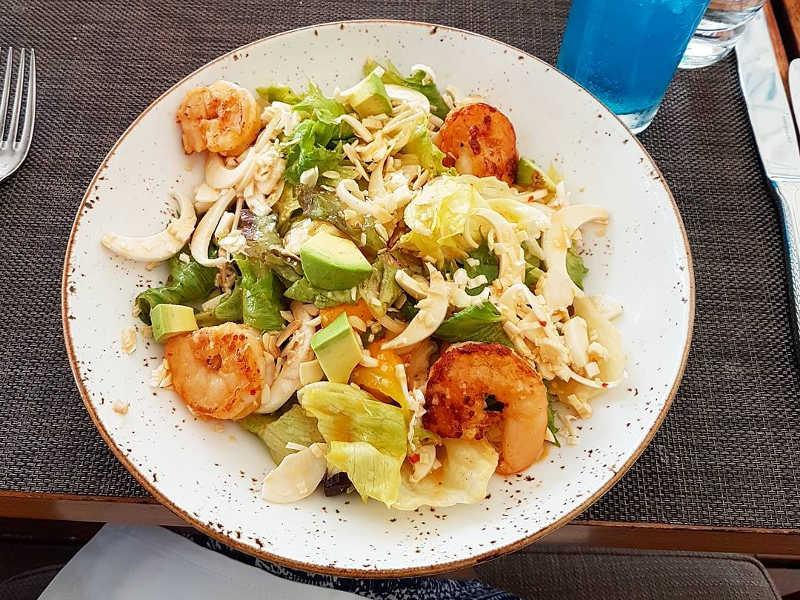 palm heart salad
