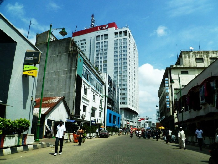 Image result for broad street lagos island